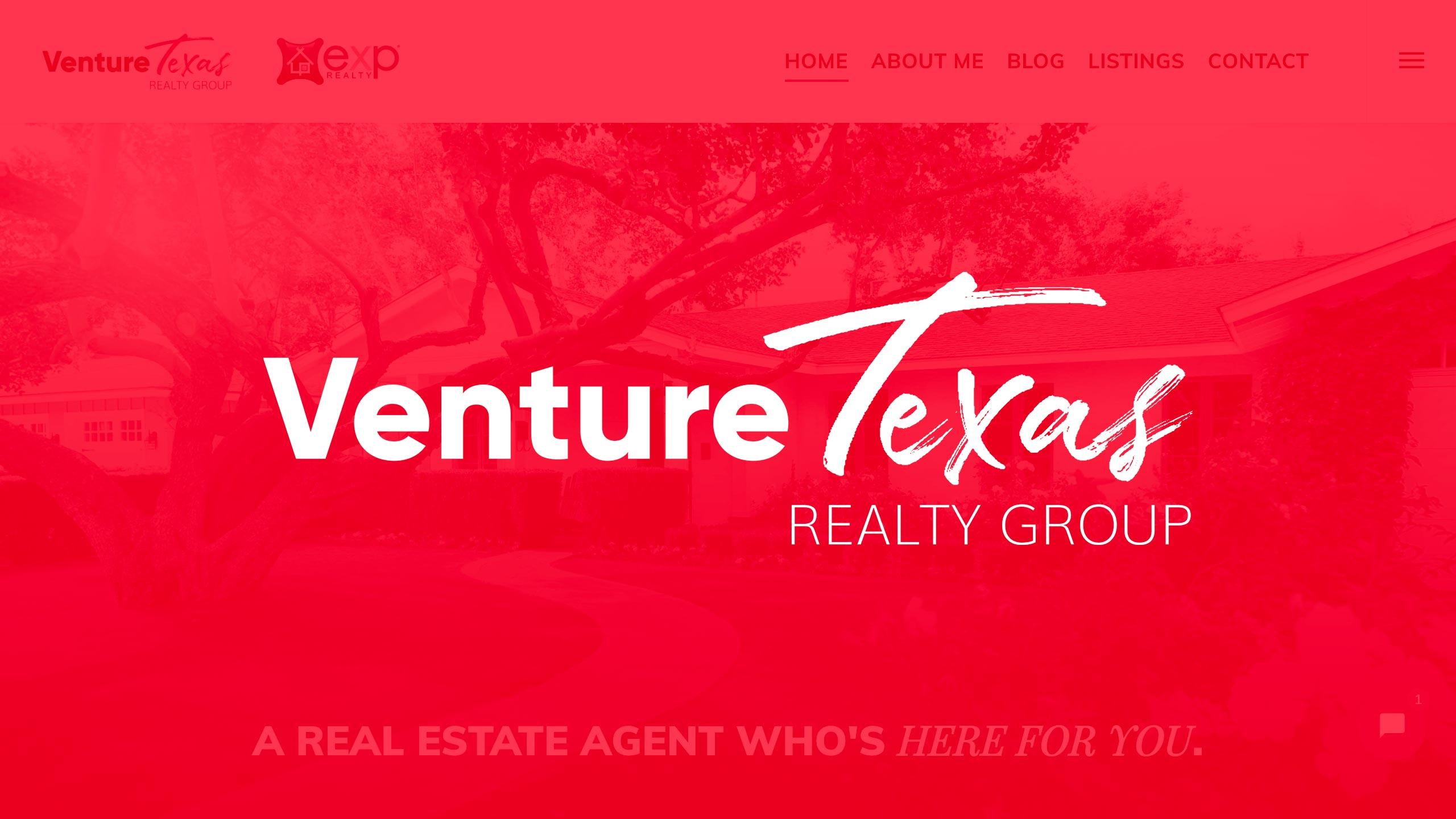 Branding & Web Development – Venture Texas Realty Group