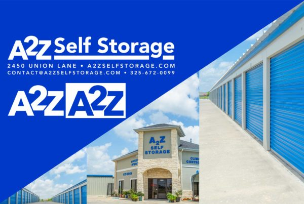 Branding & Photography – A2Z Self Storage