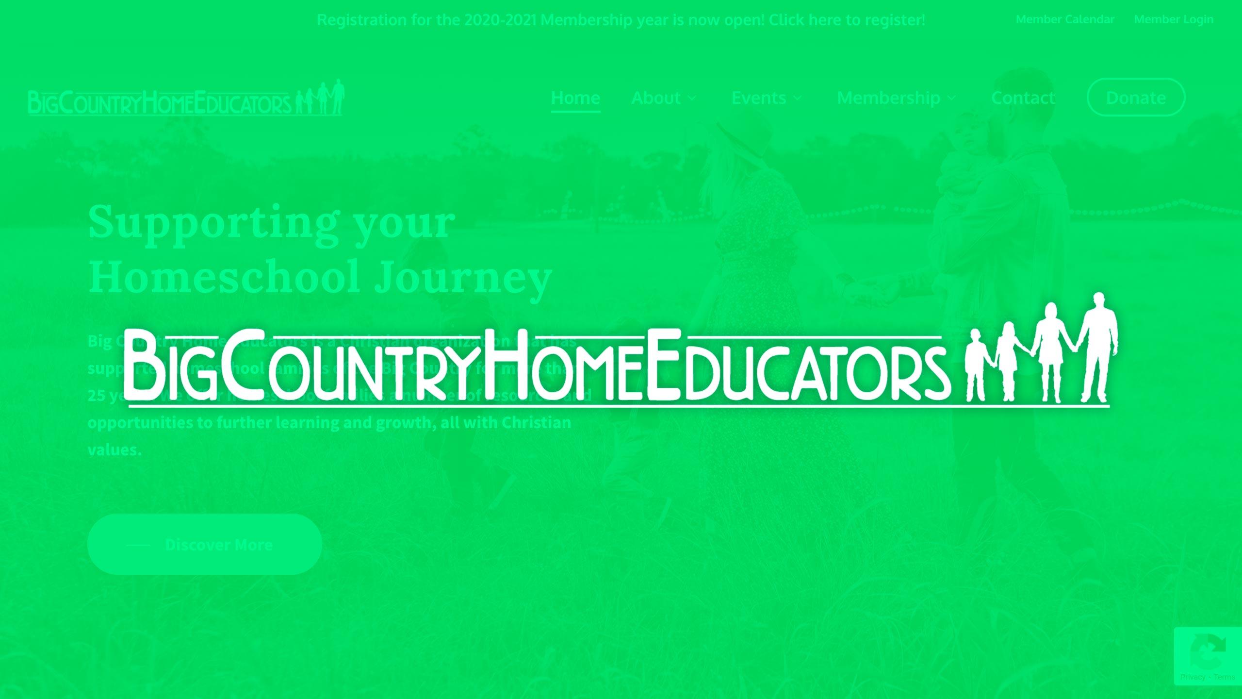 Web Development – Big Country Home Educators