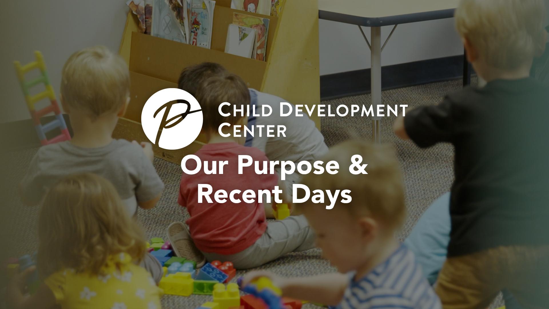 Pioneer Drive Child Development Center Video